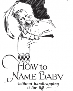 how to name a baby