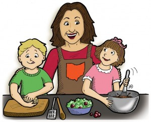 involve kids in household work